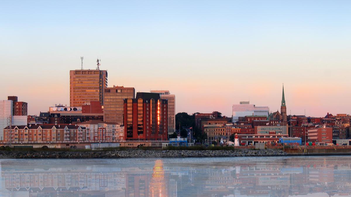 Saint John-New Brunswick Business District Canada
